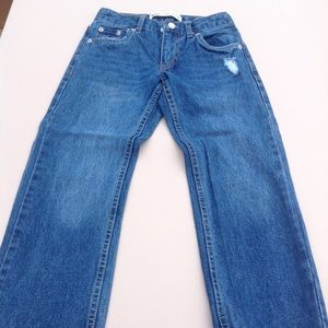 LEVI'S 505 Regular distressed jeans